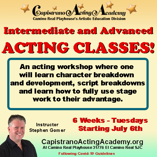 Acting Classes for teens and adults for website